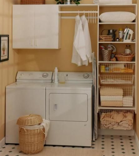 Laundry_Room wiring sliding baskets
