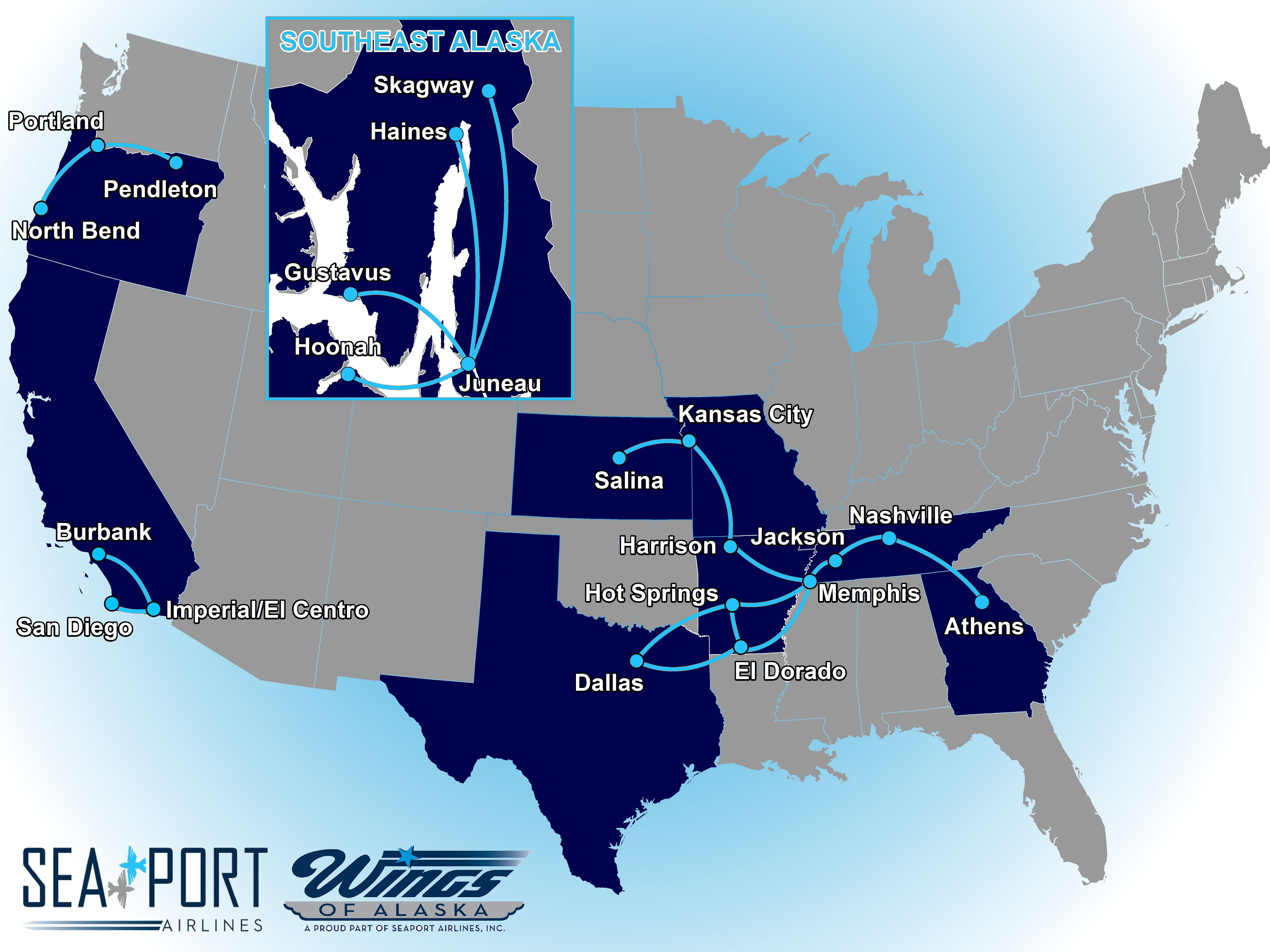 Best Historic Airline Route Maps Images On Pinterest - Us airways travel map