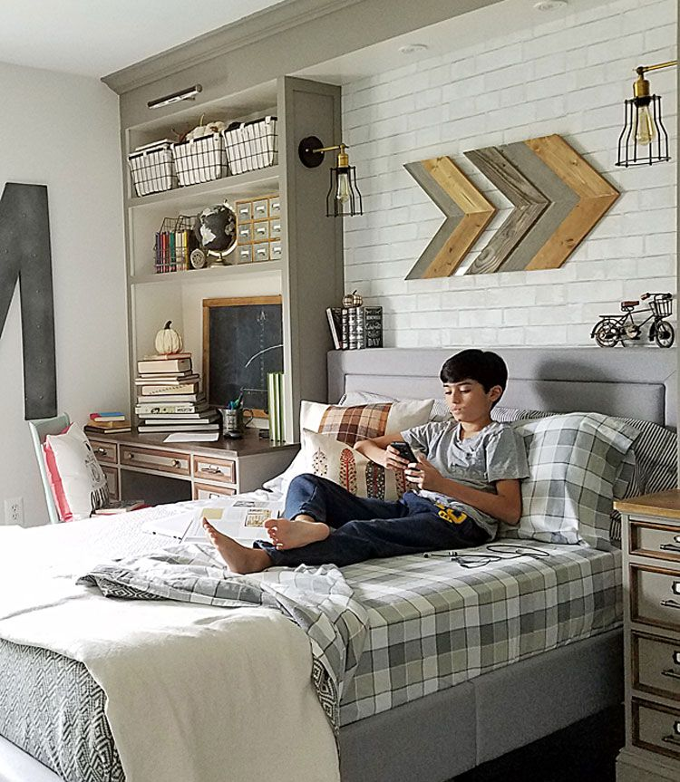 65 Cool Teenage Boys Room Decor Ideas Designs 2020 Guide