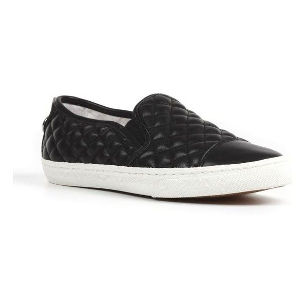 6cdbd0c72d Women's Geox 'New Club' Slip-On Sneaker featuring polyvore, women's fashion,  shoes, sneakers, black leather, geox shoes, quilted sneakers, quilted slip  on ...