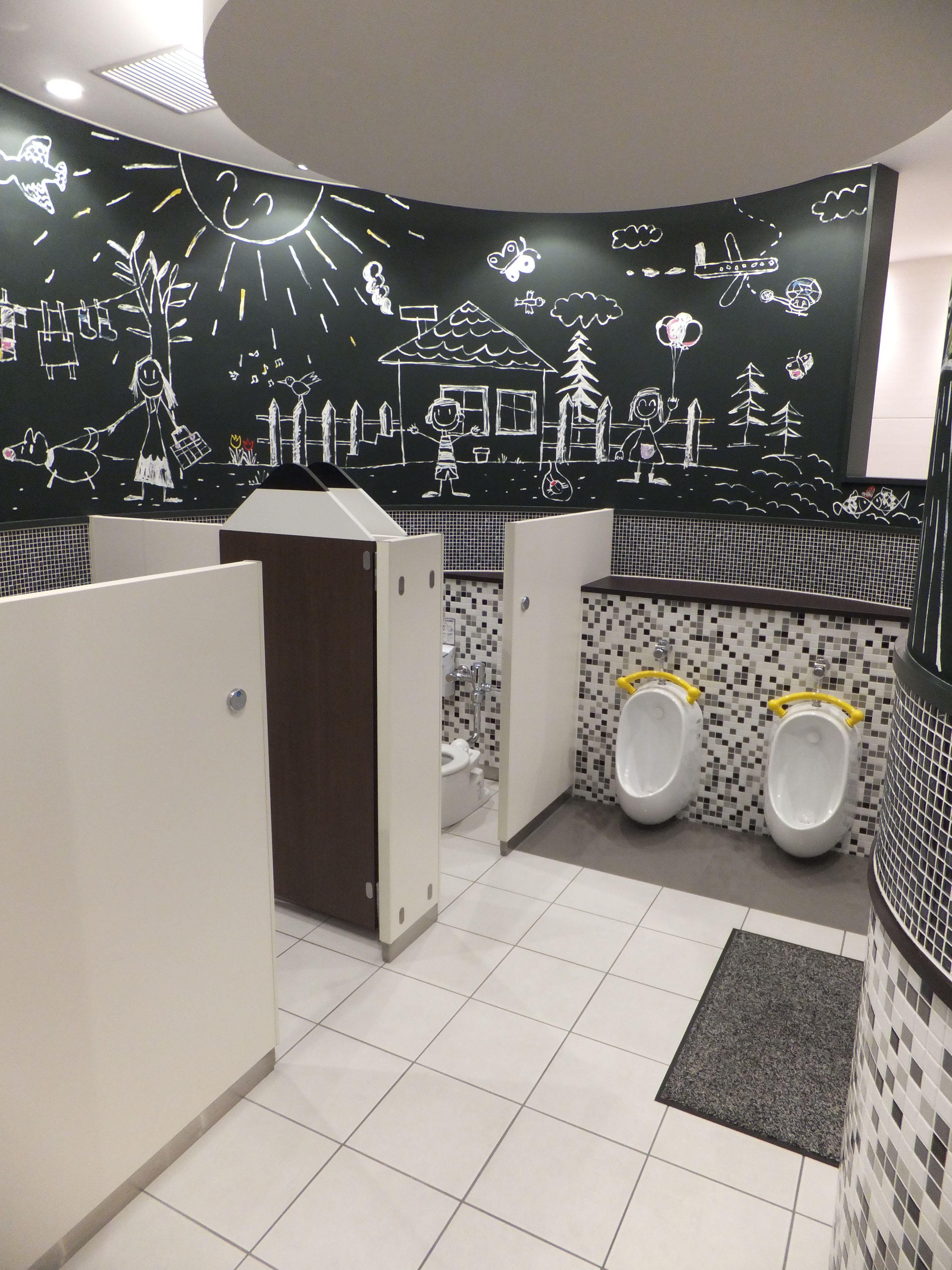 Children School Restroom Small Office In 2019 School