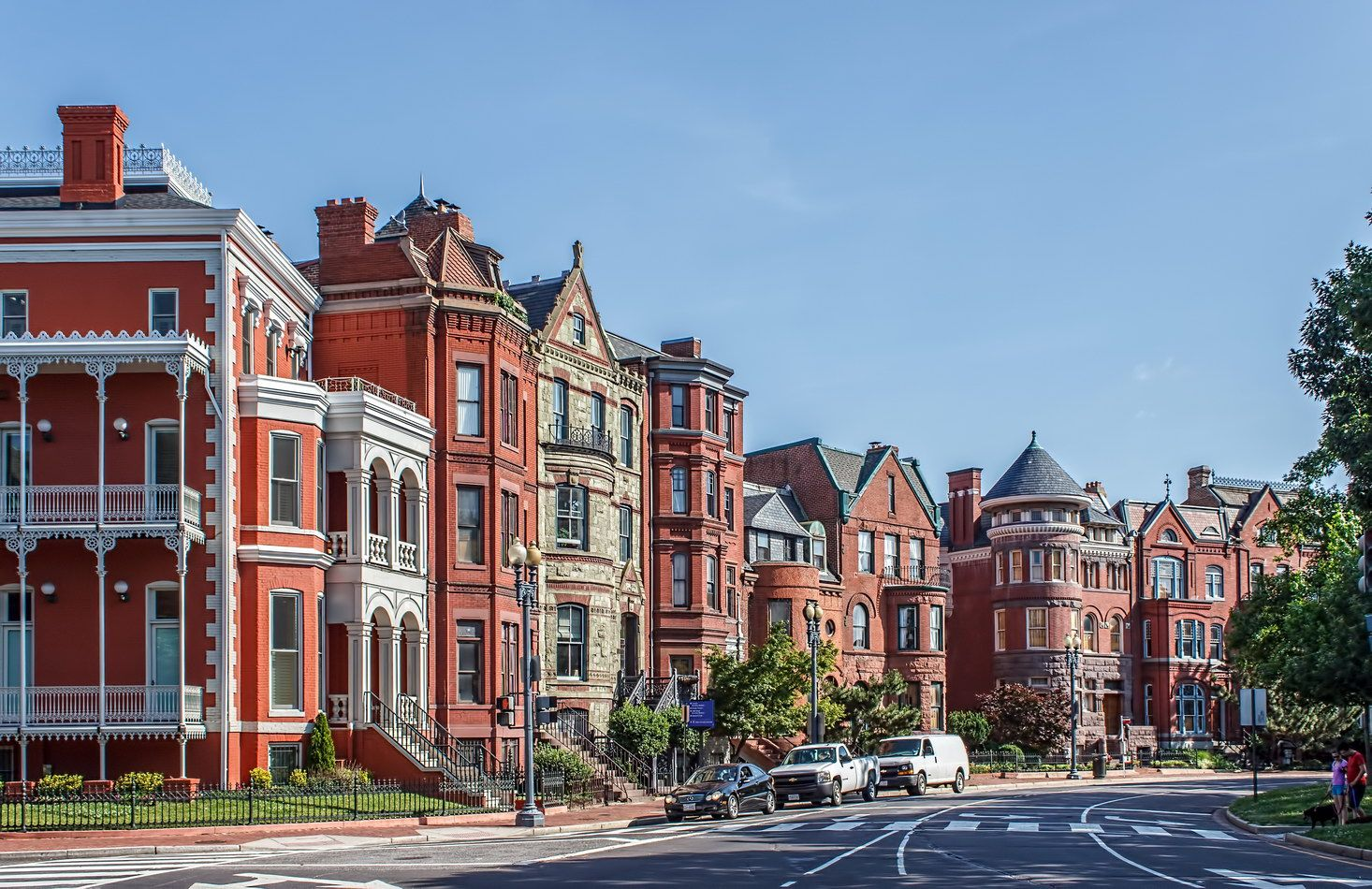 Homes on Logan Circle (With images) | New york ...
