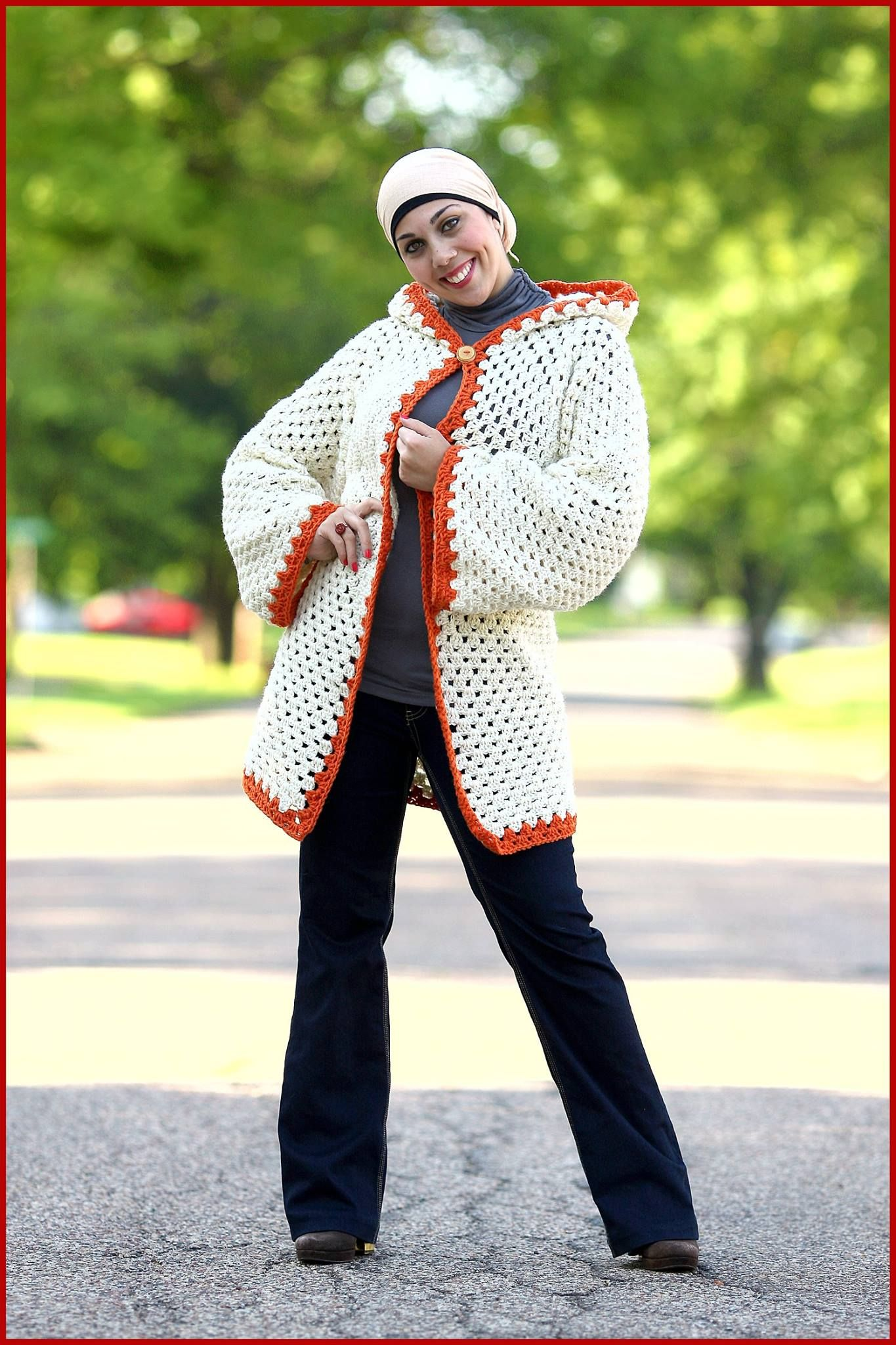 Hexagonal Cardigan | adult clothing | Pinterest | Crochet and Patterns
