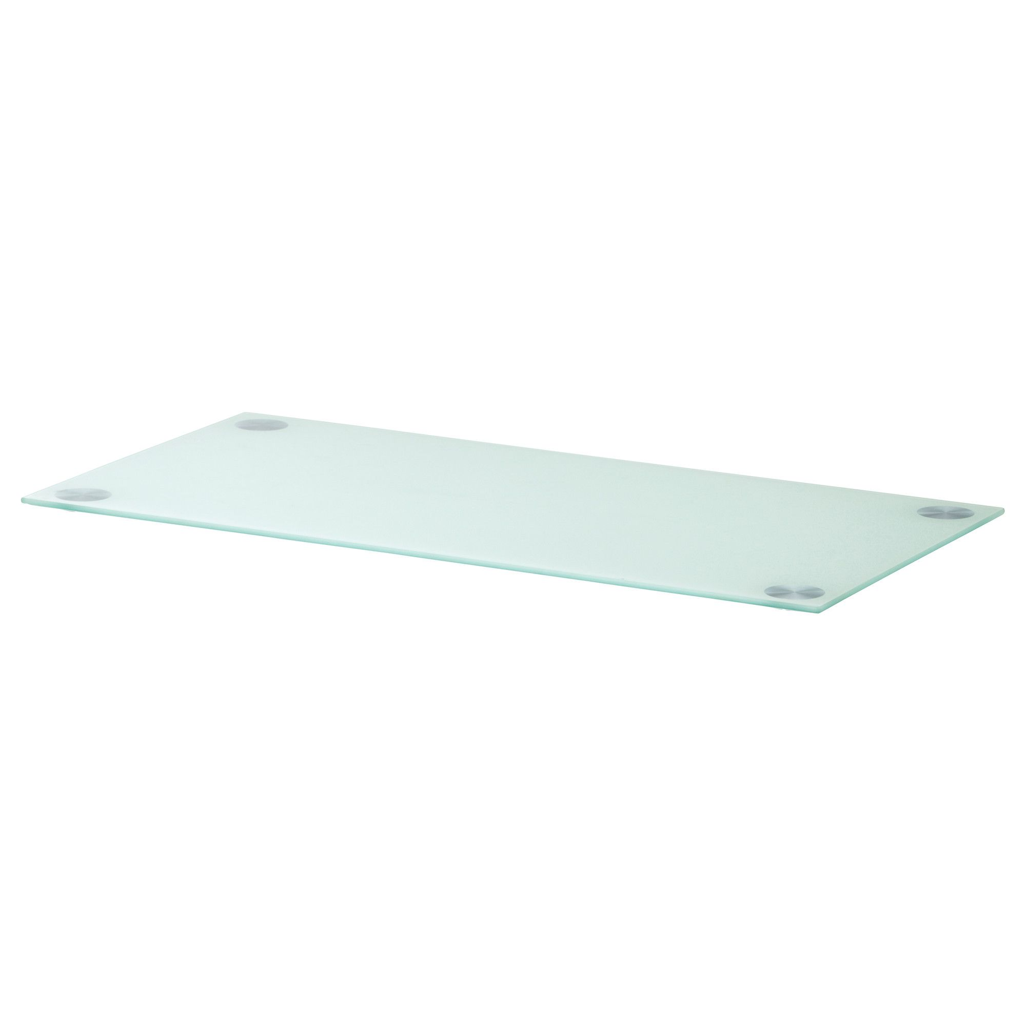 Glasholm table top glass white ikea my new office for 52 glass table top