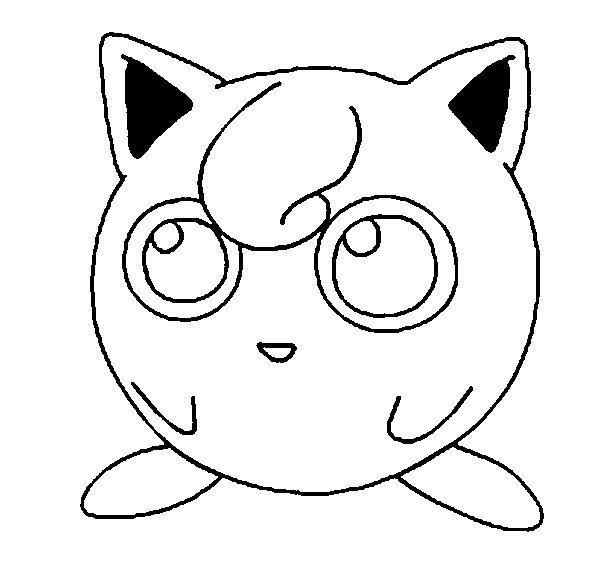 Jigglypuff Dengan Gambar Halaman Mewarnai Cara Menggambar