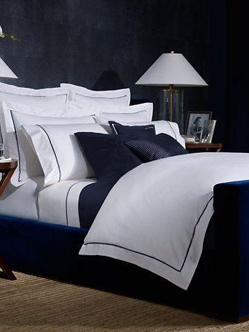 Polo Navy Palmer Duvet Bedroom Design Home Guest Bed