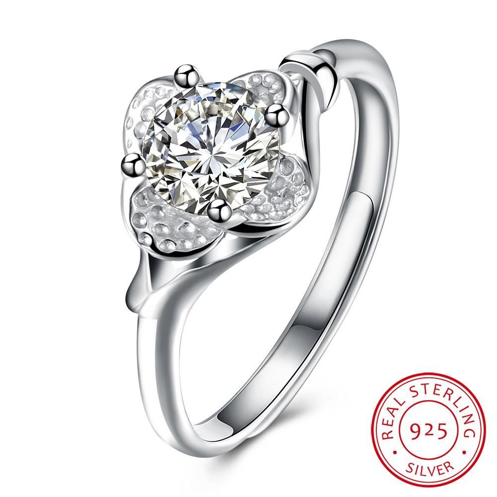 558fd78fe 925 Sterling Silver Ring Fashion ring, ring and tide creative ring ...