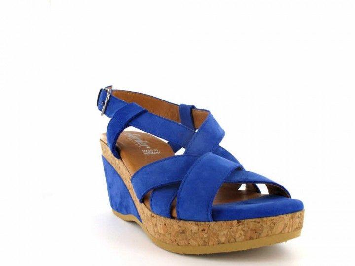 online store defa3 bde26 Tolle Kork-Sandalette für Damen mit Untergröße der Marke ...