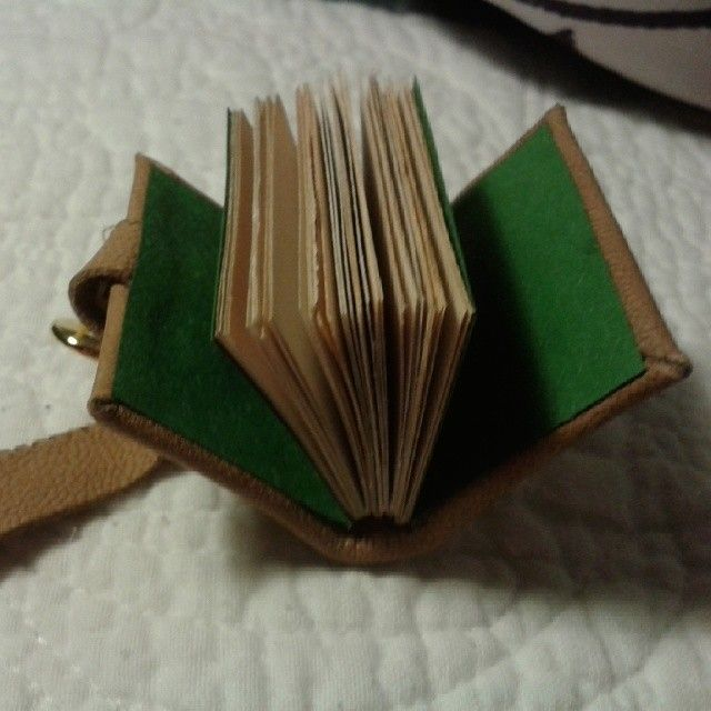 Mini book I made from recycled materials :)