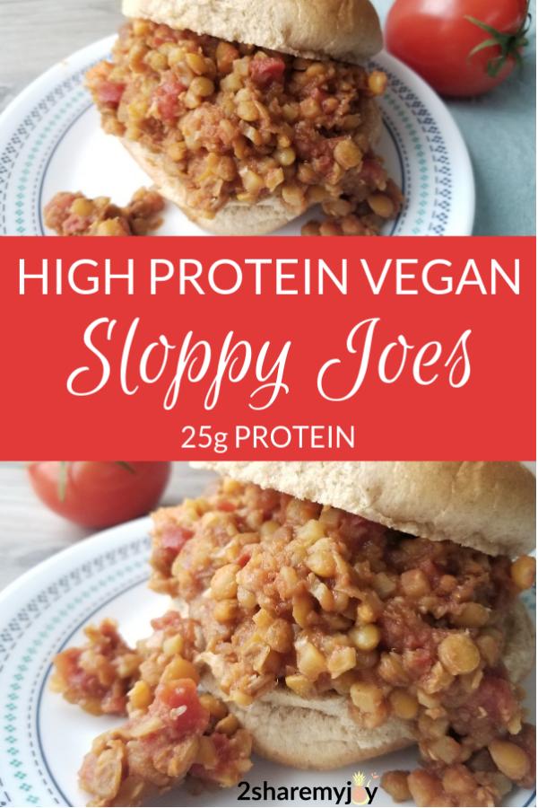 Instant Pot Vegan Sloppy Joes