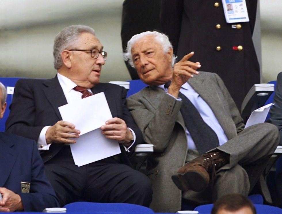 Kissinger & Agnelli