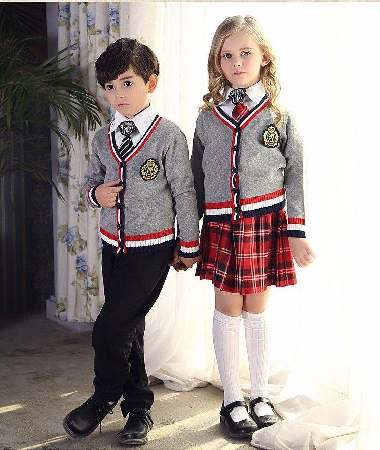 School kids Školní Oblečení 9380e3079e