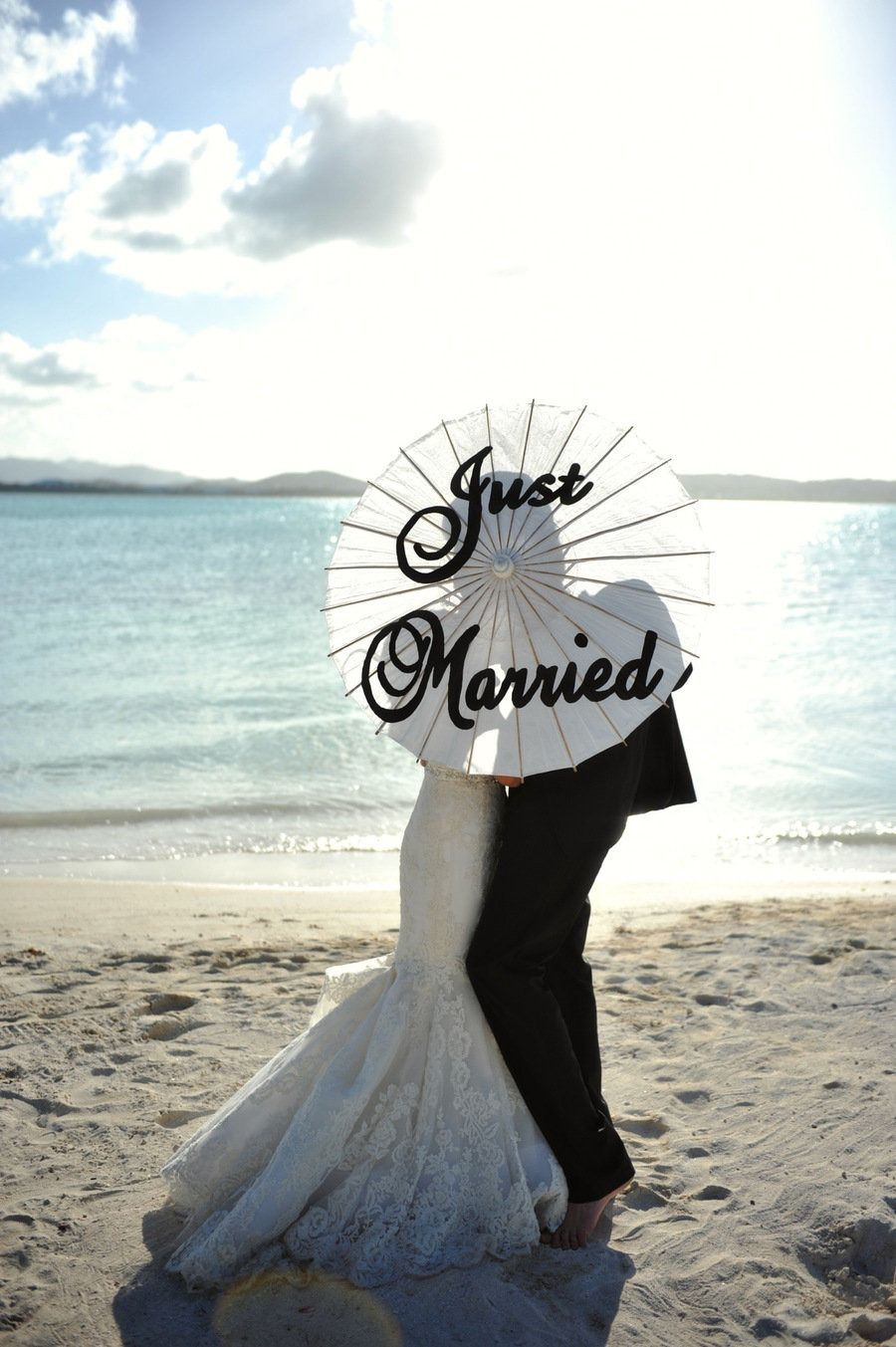 Beach wedding idea  Jumby Bay Island Wedding from Andrea u Marcus  Island weddings