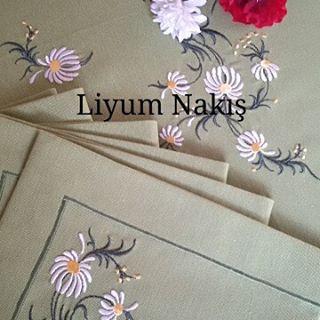 Bittiiiii #nakış #amerikanservis  #embroider #nakis #ricamoamano #çeyiz  #peçete #tablelinen #embroideredflowers