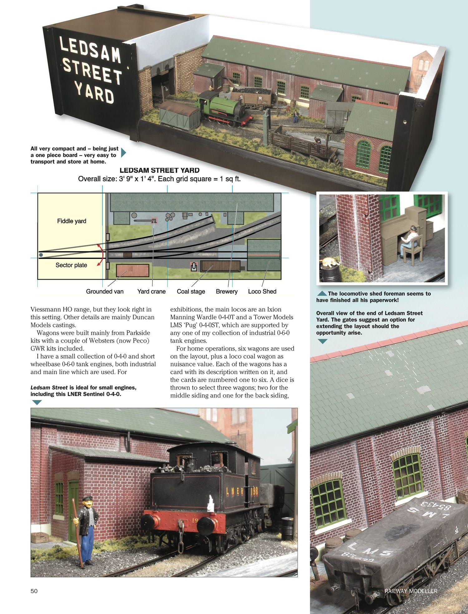 Page 94 | diorama | Model trains, Model railway track plans
