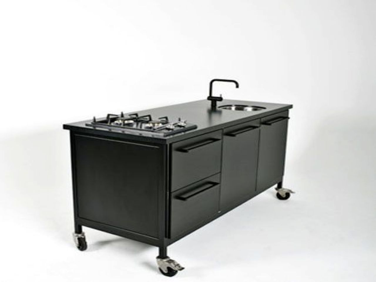 12 charming steel kitchen cabinet portable for your home decor arrangement ideas for steel kitch on outdoor kitchen on wheels id=99864