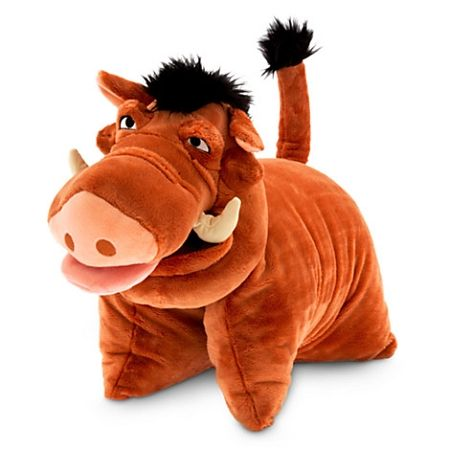 Disney Animal Pillow Pets : Disney Pillow Pet - Pumbaa Pillow Plush - Lion King OMG Pillow Pets! Pinterest Disney ...