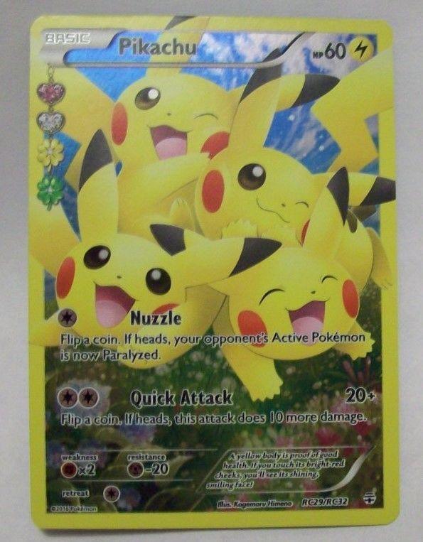 Excellent RC29 Promo Pikachu Pokemon Card