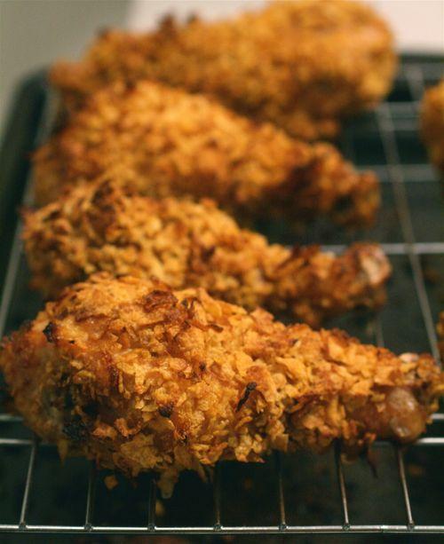 Crispy Baked Fried Chicken Soooo Yummily Substitute Gf Flour