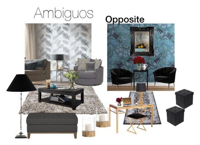 """Different rooms"" by marianaleonluzardo on Polyvore featuring interior, interiors, interior design, home, home decor, interior decorating, Arca, Cooper Classics, Lene Bjerre and M&Co"
