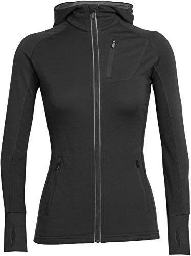 New Icebreaker Merino Women's Quantum Long Sleeve Zip Hoodie, Merino Wool online – Toplikestylish