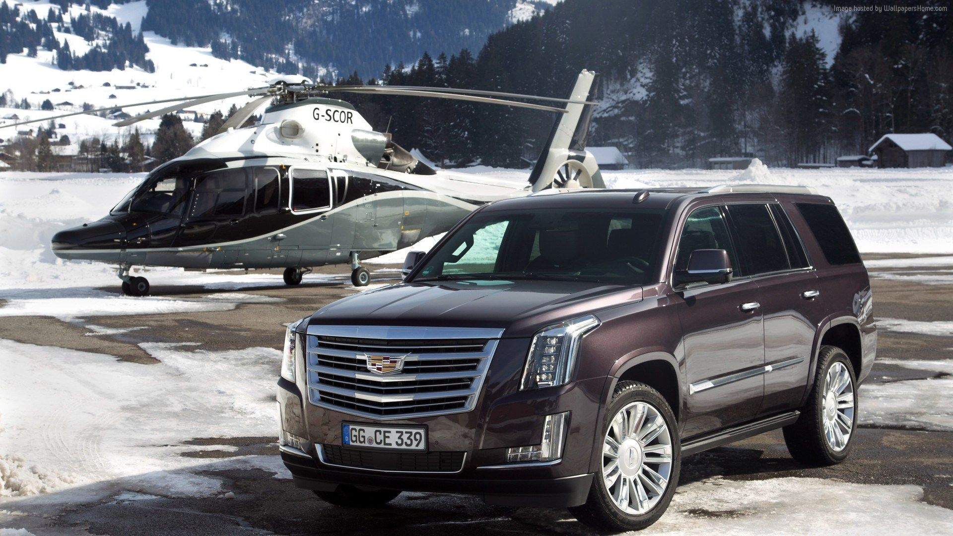 Cadillac escalade platinum wallpaper
