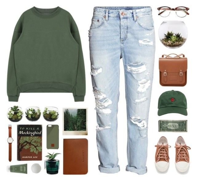 """""""// u n t i t l e d #1070 //"""" by theonlynewgirl ❤ liked on Polyvore featuring Sandqvist, Home Essentials, Aveda, The Hundreds, The Cambridge Satchel Company, Tsovet, Polaroid, Nude and Native Union"""