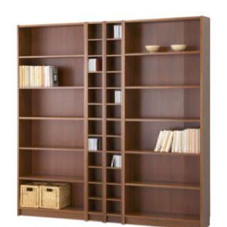 ikea billy bookshelves 2 benno cd dvd shelves maybe with one or two narrow billy s at the. Black Bedroom Furniture Sets. Home Design Ideas