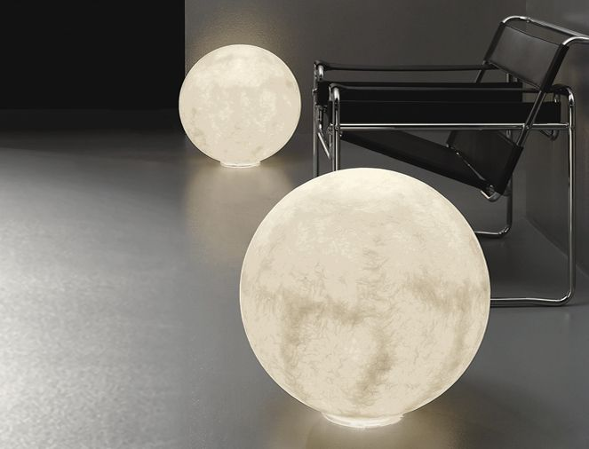 LIGHTING   Floor Lights   Luna Moon Floor Light By Ocilunam For In Es