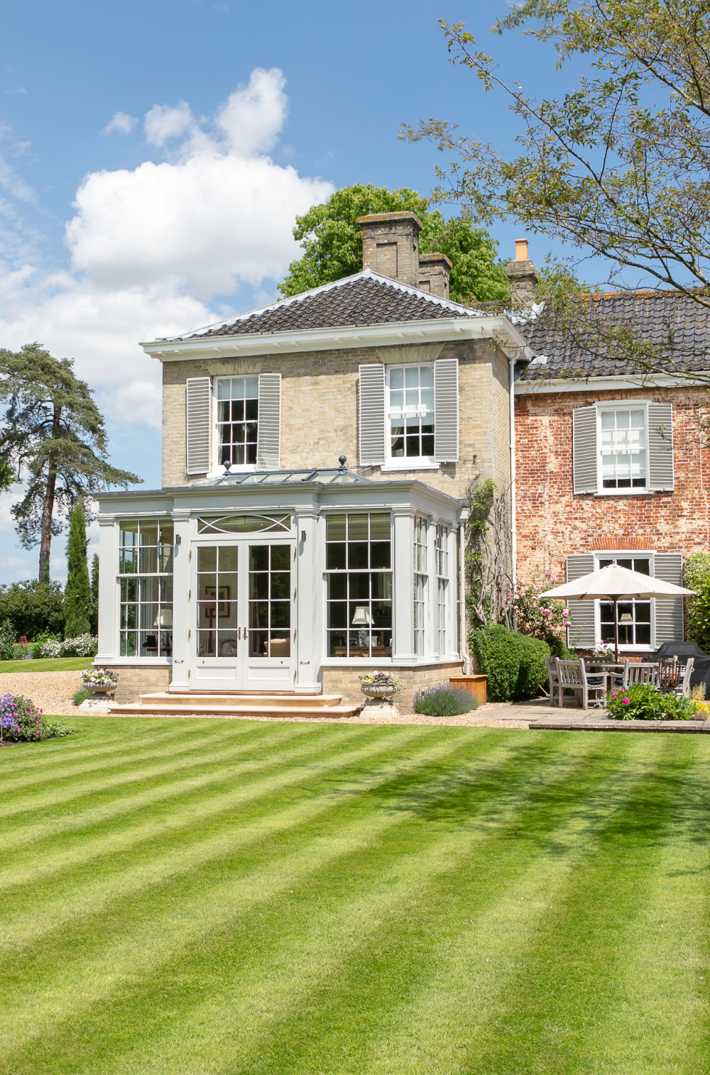 Georgian Country House with beautiful orangery extension
