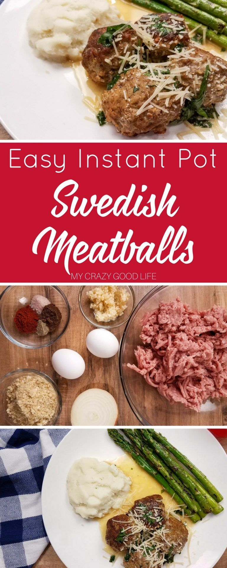 Looking For A Healthier Version Of Your Favorite Swedish Meatballs Recipe I Ve Got Healthy Instant Pot Recipes Instant Pot Dinner Recipes Pot Recipes Healthy