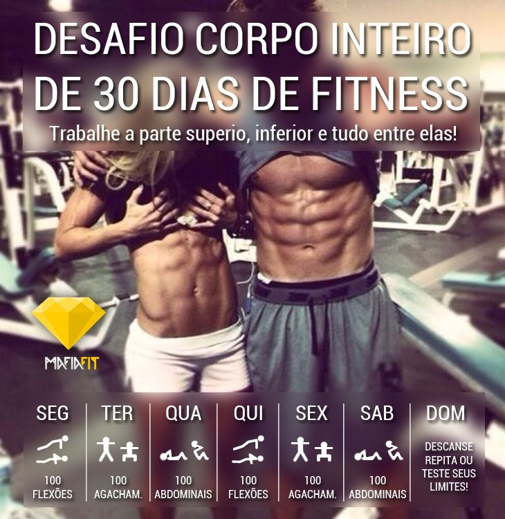 projeto 30 dias fitness