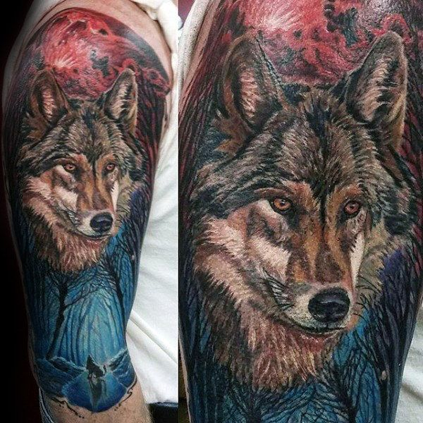 Top 101 Forest Tattoo Ideas 2020 Inspiration Guide Cool Half Sleeve Tattoos Forest Tattoos Half Sleeve Tattoos Designs