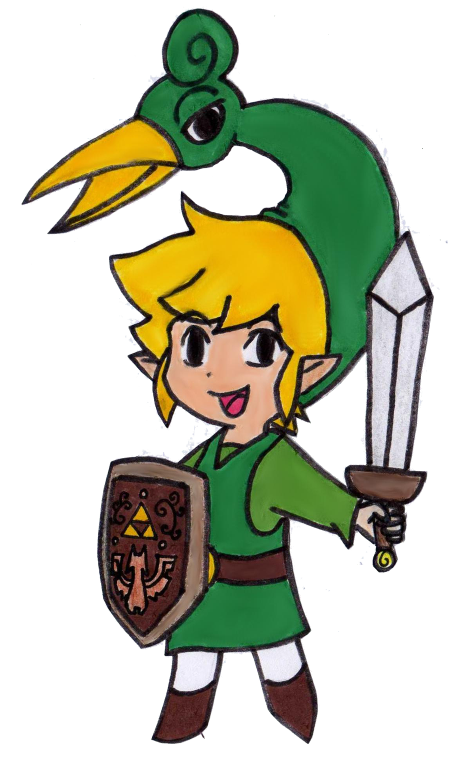 Chibi Link The Minish Cap By Easteregg23 On Deviantart The Minish Cap Chibi Link Cosplay