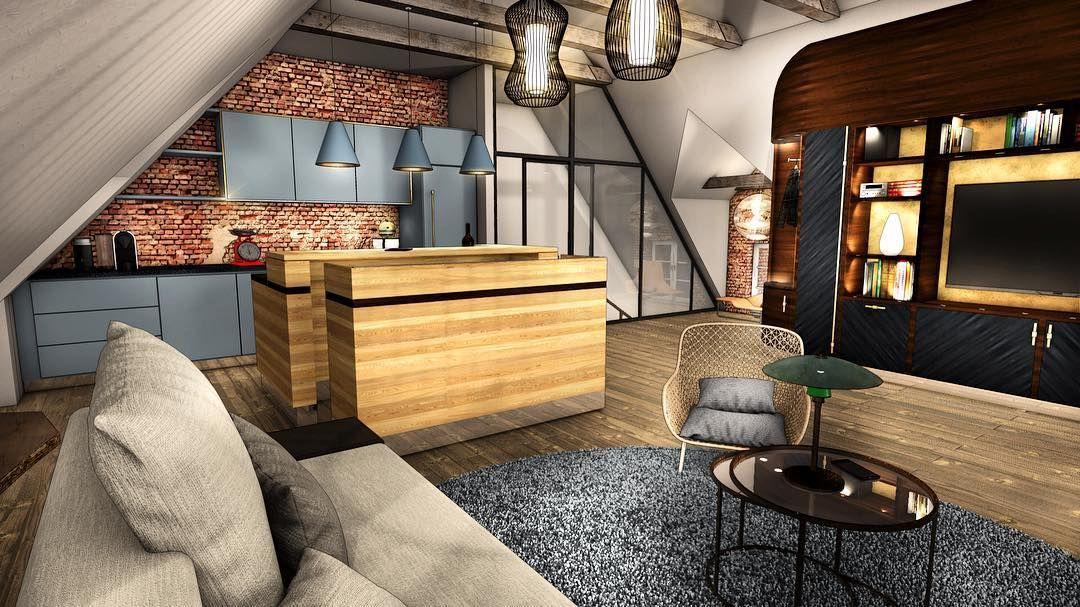 new #3d #interior #project based on @braukmann_innenarchitektur, Innenarchitektur ideen