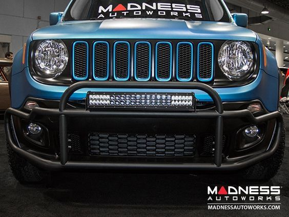 2015 Jeep Renegade Jeep Renegade Front Bumper Bar By Madness Madness Autoworks Auto Parts And Ac Jeep Renegade 2015 Jeep Renegade Jeep Renegade Trailhawk
