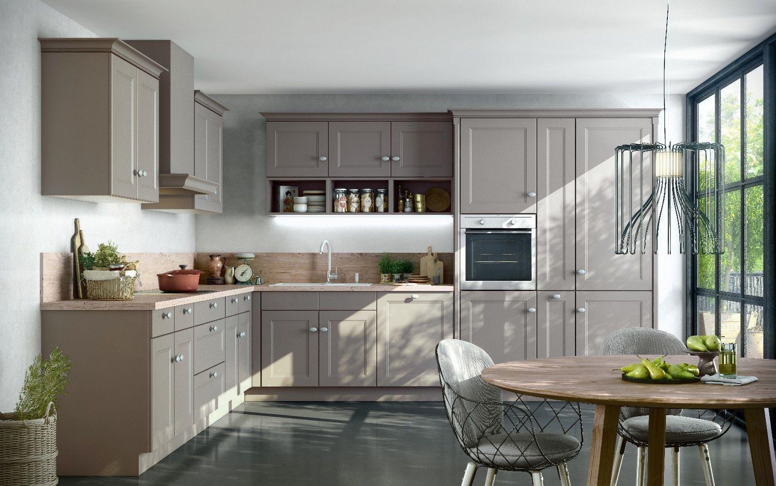 Nolte Küche Windsor Lack Magma softmatt Möbel & Wohnen