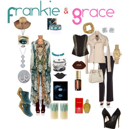 Frankie and Grace by dlc18424 on Polyvore featuring polyvore fashion style Yes We Dress by Scaglione Calvin Klein Playful Promises Giuseppe Zanotti Sanita J by Jasper Conran Rolex Tiffany & Co. Marc by Marc Jacobs Nest Domo Beads Burberry Lime Crime Victoria's Secret Givenchy L'Oréal Paris