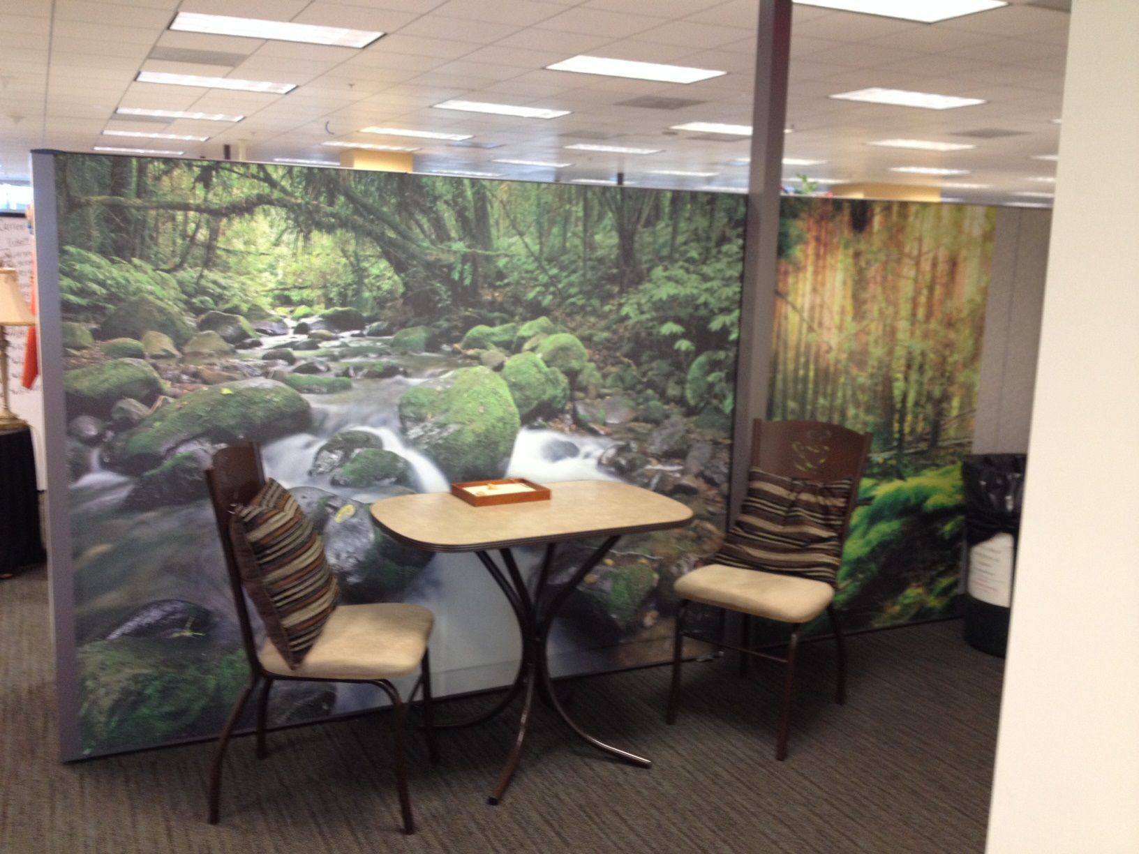 office meeting place decoratedream cubicle wallpaper. looks