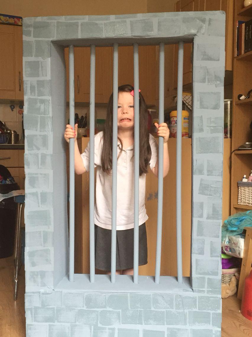 Our diy jail photo booth!! | Fall festival ideas ...