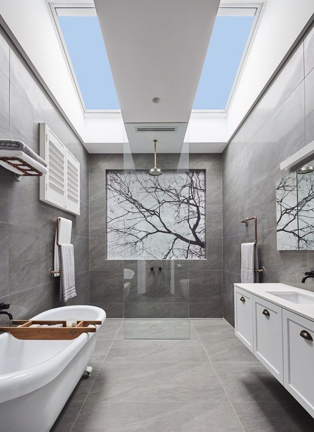 Bathroom Skylight The Block Granny Flat In 2019 Home