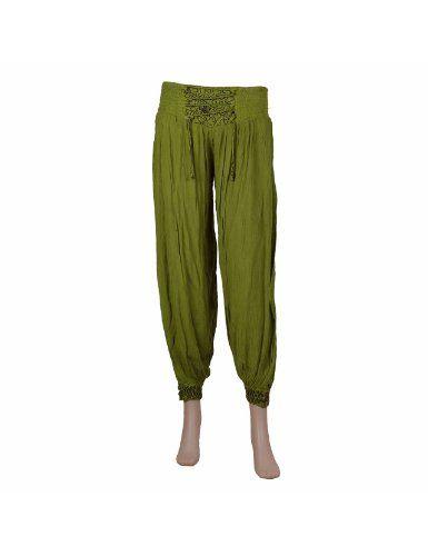 Pantalon capri pour femmes - Vêtement décontracté de mode indienne (Différentes couleurs disponibles): Amazon.fr: Vêtements et accessoires