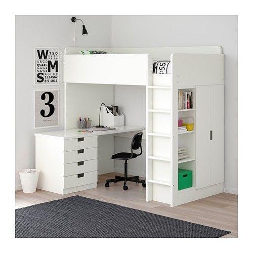 Ikea Stuva Hoogslaper Zolderbedden Hoogslaper Bed Met Bureau