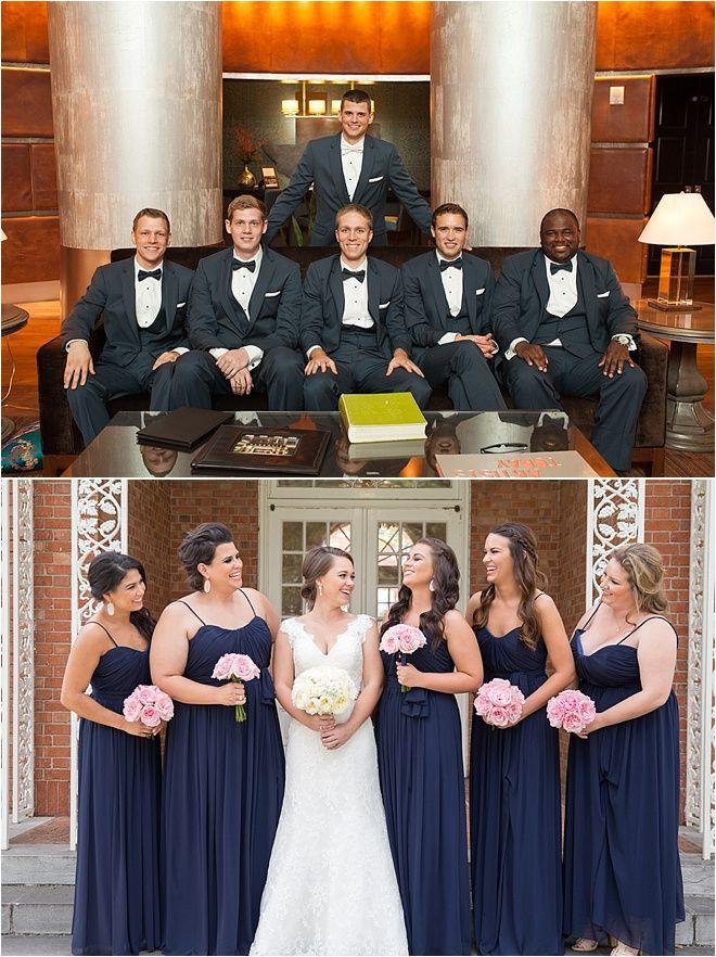Navy Blue Bridesmaid Dresses Clic Wedding Inspiration Ideas Photos Md Turner
