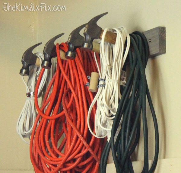 Wire Magazine Rack Repurposed