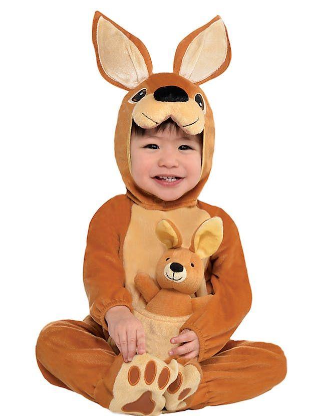 Adult Kangaroo Jumpsuit Costume Australia Book Week Day Unisex Fancy Dress