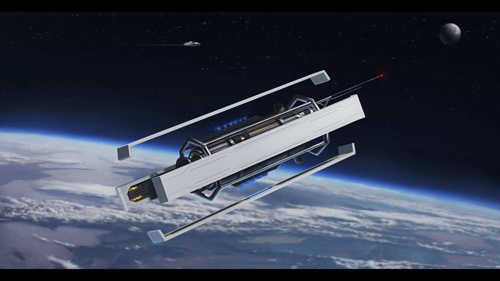 Satellite Nx 12 By Dekusdeviantartcom On At Deviantart Spaceships