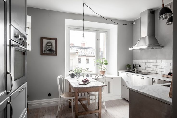 apartment with 50 shades of grey, via http://www.scandinavianlovesong.com/