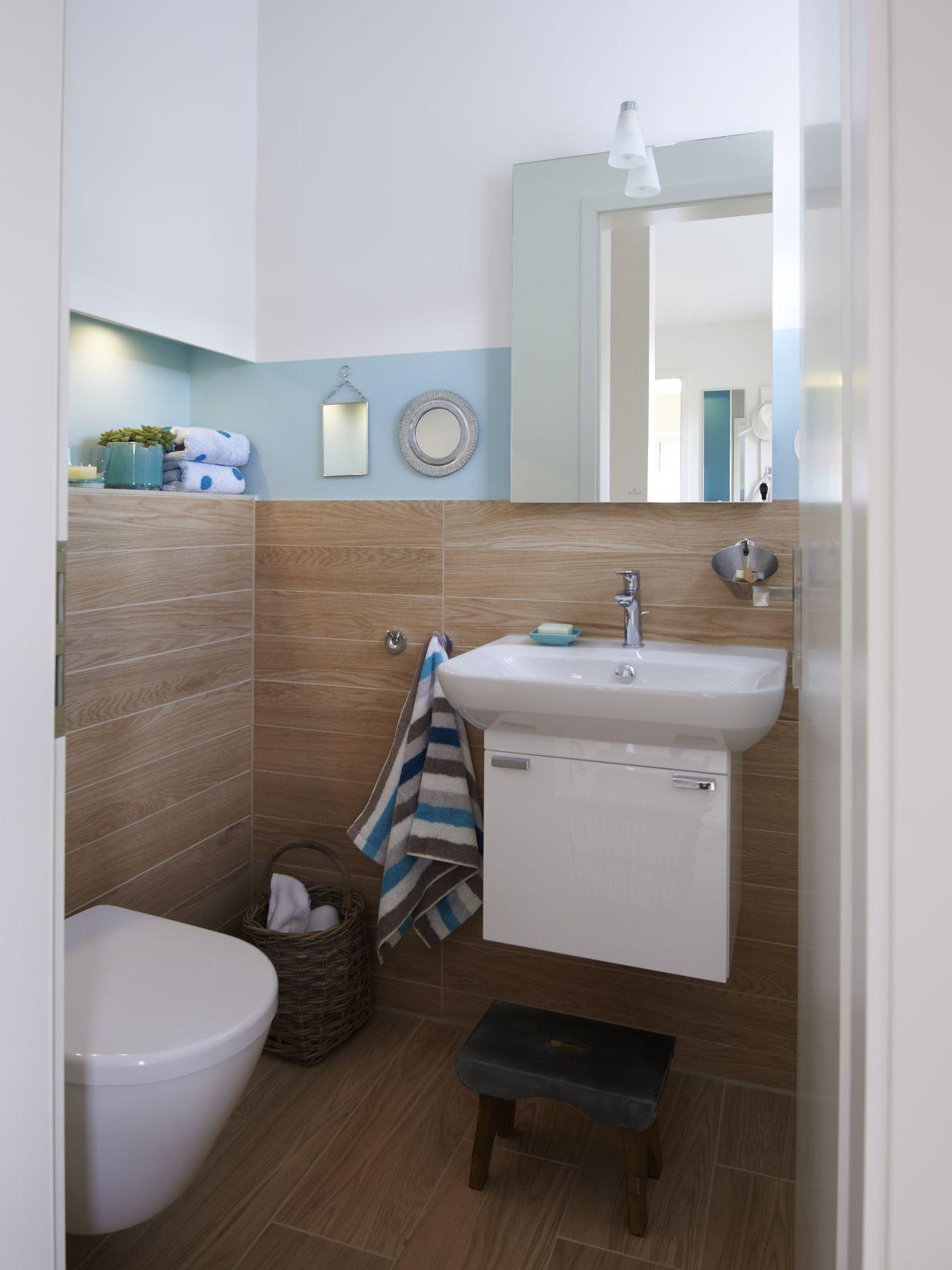 Farbgestaltung Gästebad Edition 425 WOHNIDEE-Haus - Familienhaus zum ...