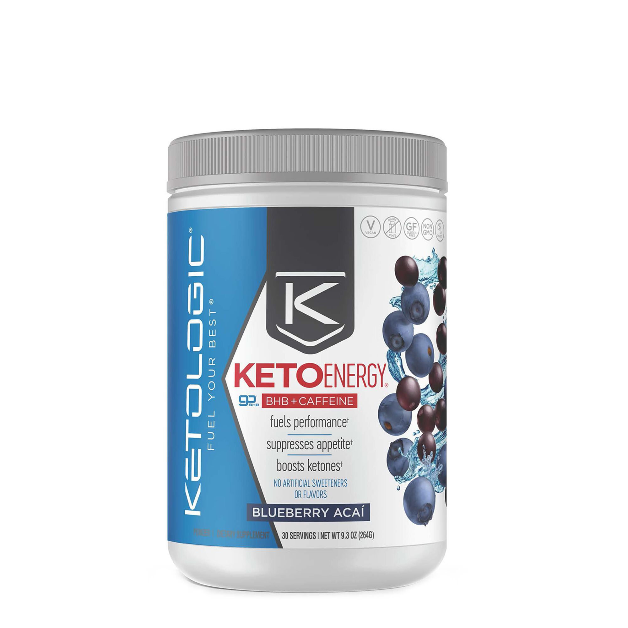 Ketoenergy Bhb + Caffeine - Blueberry Acai | Paleo protein ...
